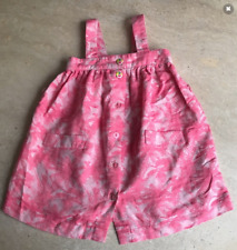 """ROBE """"FILOU & FRIENDS"""" ROSE IMPRIMEE - TAILLE : 4 ANS"""