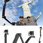 Action 3-Way Selfie Stick Hand Grip Flexible Tripod Extension Monopod camYYDC picture