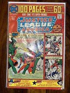 Justice League America 116. 1975. 1st App Of Golden Eagle. Bronze Age Issue. VG-