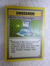 Carte pokémon dresseur recherche informatique 71/102 rare set de base