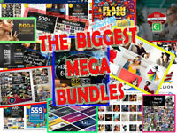 4 TB Million-dollar-worth-pack -30 mega bundles in one -Huge Collection-
