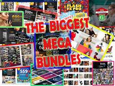 4 TB Million-dollar-worth-pack -30 mega bundles in one -Huge Collection-