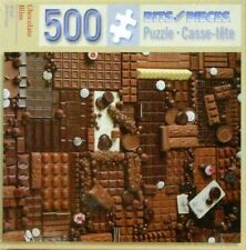 """PUZZLE - JIGSAW BITS AND PIECES """"CHOCOLATE BLISS"""" CANDY - 500 PCS - NIP!"""