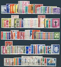 BERLIN, 1955-1965, Jahrgänge komplett postfrisch, Mi. 246,-