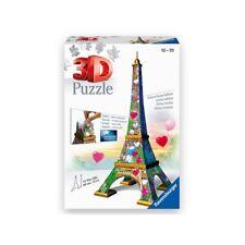 Ravensburger 11183 - 3d Puzzle 216 Parti – Parigi Torre Eiffel Love Edition