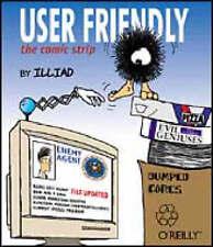 "User Friendly: The Comic Strip, J.D. ""Illiad"" Frazer, Excellent Book"