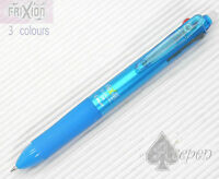 Pilot FriXion Ball 3 Multi-Color 3in1 Erasable pen LIGHT BLUE