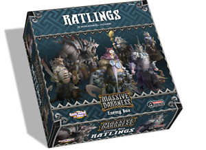 Massive Darkness Ratlings - Enemy Box Expansion Board Game FACTORY SEALED