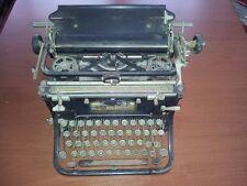 "Antica macchina vintage da scrivere tedesca ""Hoffman & co"" funzionante, in ferro"