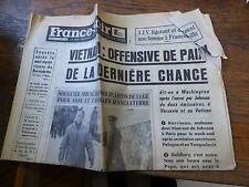 France-soir 31 décembre 1965 / vietnam offensive de paix - charles d'angletterre