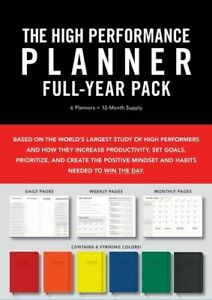 NEW High Performance Planner Full-Year Pack Diary (Engagement Calendar)