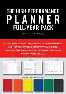 NEW High Performance Planner Full-Year Pack Diary (Engagement Calendar)