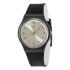 Swatch Analogue Silver Case Wristwatches