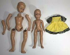 Vintage American Character Doll Lot Hard Plastic Tlc Parts and Repair Toni Sue?