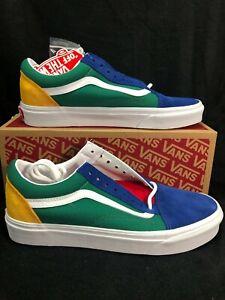 Vans Old Skool Vans Yacht Club Blue Green VN0A38G1R1Q Men's Size 8 Wmn's 9.5(15)
