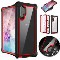 For Samsung Galaxy Note 10 Plus Shockproof Armor Case Rugged Bumper Hybrid Cover