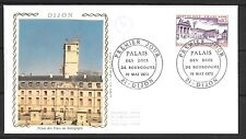 1973 France first day cover Palace of the Dukes of Burgundy, Dijon