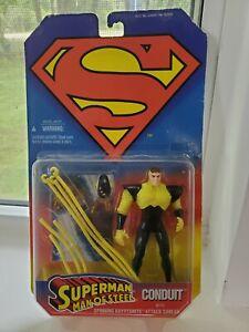 Superman, the Man of Steel Conduit Action Figure MOC