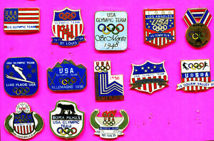 1996 OLYMPIC PIN TEAM USA OLYMPIC PINS BUY 1-2-3-ADD TO CART 1908-1996 PINS