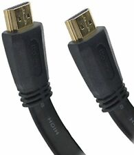 121AV® 10m v2.0 High Speed HDMI to HDMI Flat cable with Ethernet, Gold Plated
