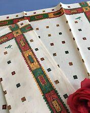 Tochons anciens Lin Coton mélangé 76 x 64 cm Etat neuf Linge vintage 1526/118-1