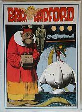 BRICK BRADFORD tavole domenicali a colori collana gertie daily 97 comic art 1979