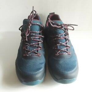 Mens Garmont Gore-Tex VIBRAM SOLE Blue Waterproof Hiking Trail Shoes Size 10.5