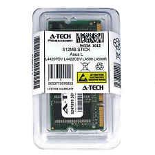 512MB SODIMM Asus L4420PDV L4422CDV L4500 L4500R L4510 L4550 L4570 Ram Memory