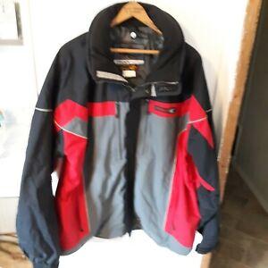 Spyder Snow Ski Jacket Mens Size XXL Entrant Xscap  Black Red (no Liner) Shell