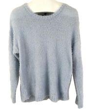Rampage Ladies Womens Ballad Blue Fluffy Long Sleeve Sweater Size XXL NWT