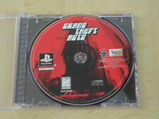 Original Grand Theft Auto GTA 1 PS1 PLAYSTATION Black Label MINT GAME DISC