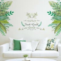 Removable Leaves Wall Sticker Bedroom Wallpaper Mural Decal Home Art Decor diy