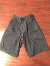 French Toast Uniform Boys Shorts Navy Blue Size 6/7 Adjustable Waist