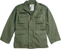 Olive Drab Vintage M-65 Military Field Jacket Army M65 Coat
