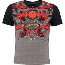 CLASS CAVALLI Black Pattern T-Shirt BNWT