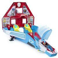 Paw Patrol 6053098 Super PAWs,2-in-1 Transforming Mighty Pups Jet Command Centre