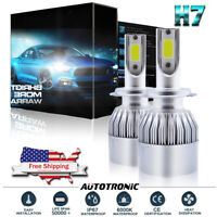 2X LED H7 Headlight Bulb Kit 195000LM for Mercedes-Benz C300 B200 C230 C250 C240