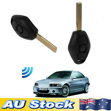 Remote Key Fob Transponder W/ Blade For BMW 3 5 7 Series E39 E46 M5 Replacement