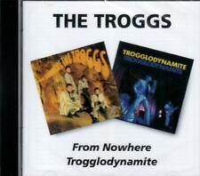 THE TROGGS - FROM NOWHERE + TROGGLODYNAMITE 66/67 1st 2 UK ALBUMS REMASTR SLD CD