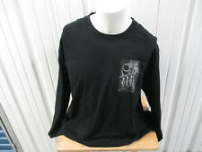 VINTAGE SUPREME X H.R. GIGER BLACK XL LONG SLEEVE T-SHIRT F/W 2014 PREOWNED BIO