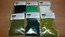 Static Grass Flock Multipack 2mm 6 x Different Colours - Hornby Wargamming Model