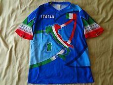 ITALIAN ITALIA FOOTBALL TEAM T-SHIRT JERSEY SIZE - L