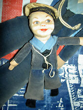 Pair c1930s, Norah Wellings l'bd. stockinette, Russia & Amsterdam Novelty dolls