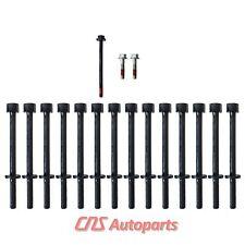 Cylinder Head Bolt Set 02-12 GM Hummer Isuzu Saab 2.8L 2.9L 3.5L 3.7L 4.2L DOHC