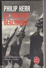 Philip Kerr - La Trilogie berlinoise - Policier historique ( années 40 ) .