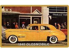 1940 OldsMobile  Auto Car Refrigerator / Tool Box Magnet