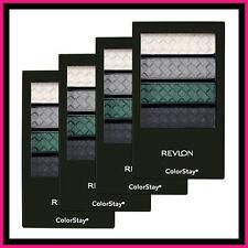 4 X Revlon Colorstay 12 Hour Eye Shadow Eyeshadow Quad ~  341 Steel Impressions