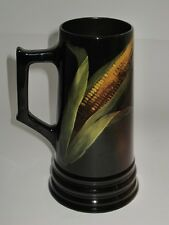 "Weller Louwelsa Corn Motif, 7 3/4"" Tall Tankard, Jug or Mug"