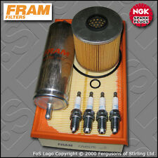 SERVICE KIT BMW 3 SERIES 318I M43 E36 FRAM OIL AIR FUEL FILTER PLUGS (1993-1994)
