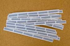 30 not 25 Silver SCRATCH OFF Stickers Labels Games Tickets Favors Promotional